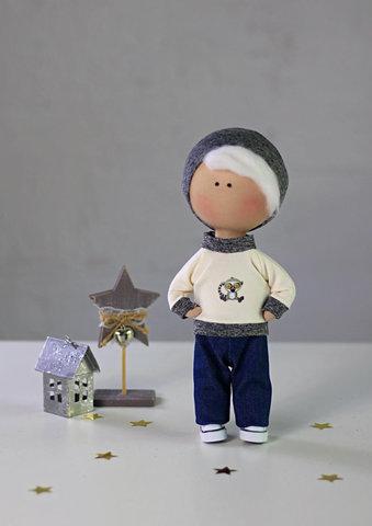 Лялька хлопчик Генрі. Колекція La Petite.