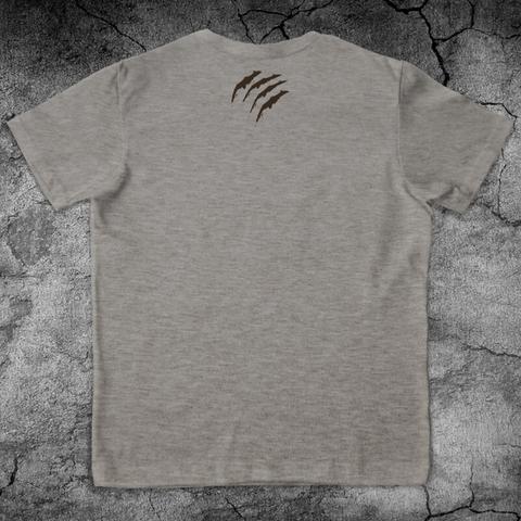 Купить хлопковую футболку Bear для пауэрлифтинга, для зала, фитнеса, стиль жизни вид со спины