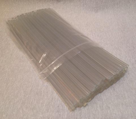 Клеевой стержень д/термопистолета  (d 7 мм, 30 см), 1 упак. ~80 шт.