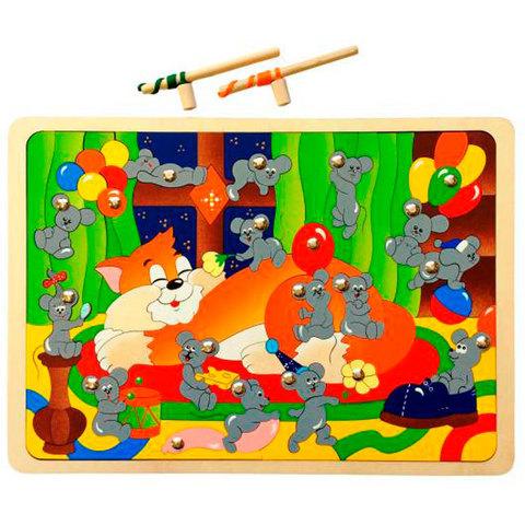 Магнитная мозаика Мышиная охота, Крона 143-046
