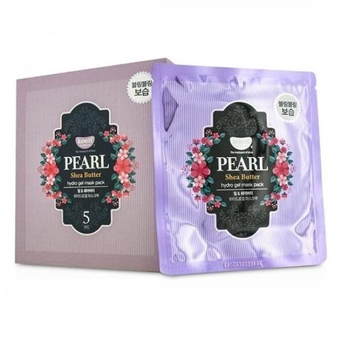 KOELF Маска для лица гидрогелевая с маслом ши и жемчужной пудрой PEARL & SHEA BUTTER, 30 гр
