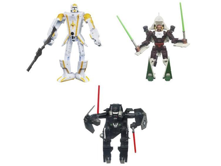 Star Wars Transformers 2011 Class I Series 02