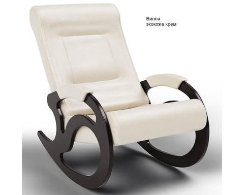 Кресло-качалка Вилла (Модель 5) экокожа