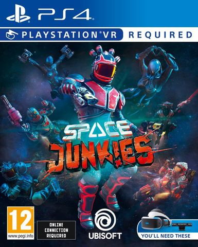 PS4 Space Junkies (только для PS VR, английская версия)