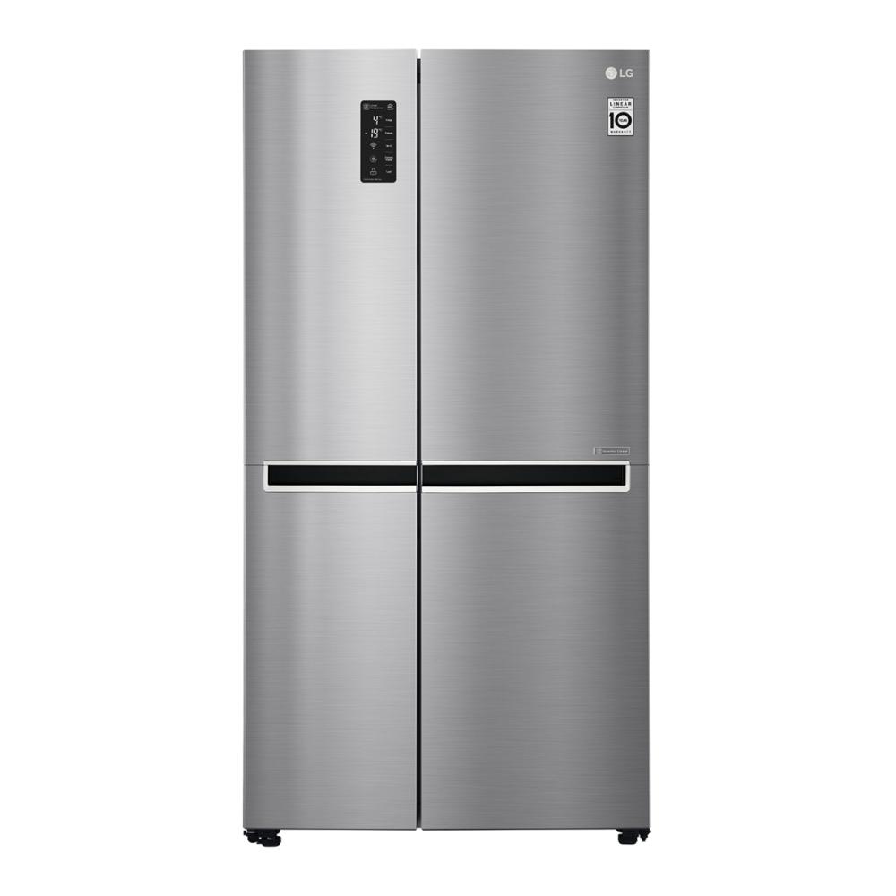 Холодильник LG Side-by-Side с инверторным линейным компрессором GC-B247SMDC фото