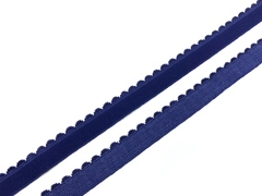 Резинка отделочная темно-синяя 15 мм (цв. 061)