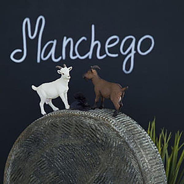 Фотография Козий сыр твердый «Манчего» / 200 гр купить в магазине Афлора