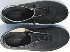 Мокасины спортивные женские Evromoda 115 Black