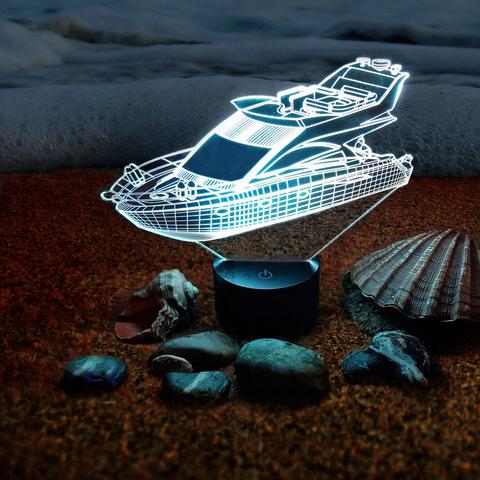 Ночник Яхта