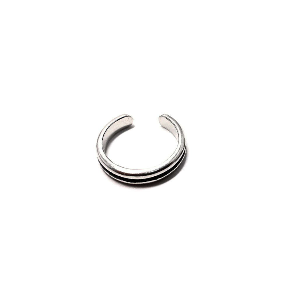 Phalanx ring Rock 'n' roll together, the small one, sterling silver