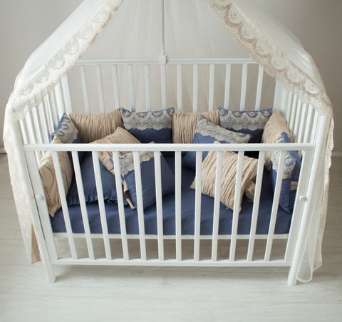 Комплект в кроватку Сапфир, на 4 стороны кроватки
