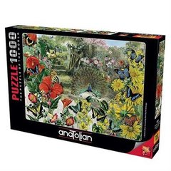 Puzzle Bahçedeki Tavuskuşu. Peacock in the Garden 1000 pcs