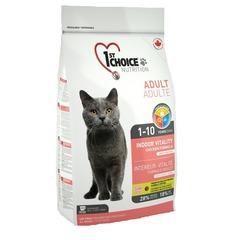 1st Choice Vitality Indoor для взрослых домашних кошек от 1 года до 10 лет