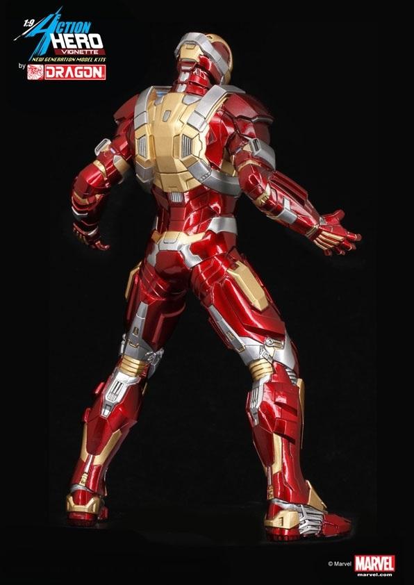 Iron Man 3 Scale Model Kit 1/9 - Mark XVII Heartbreaker