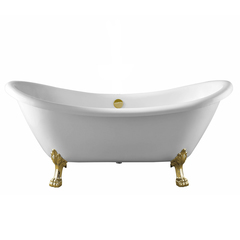 Ванна отдельностоящая 176х72 см Swedbe 8818GO фото