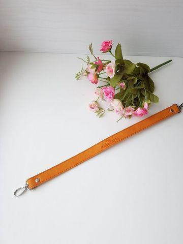 Ручка для сумок 44 см. Ginger (Рыжий)