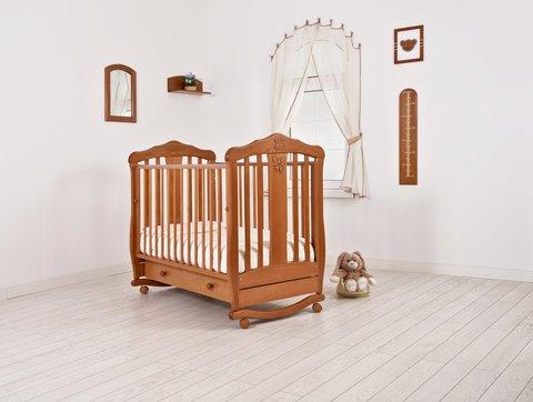 """Кровать детская К-2002-28 """"Доминик"""" (вишня)"""