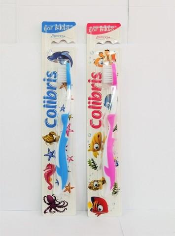 Colibris Зубная щетка детская мягкая жесткость 0906