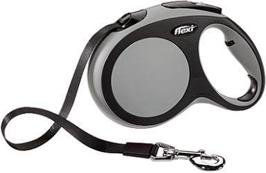 Рулетки Поводок-рулетка Flexi New Comfort L (до 50 кг) лента 8 м черный/серый d80cf86c-3797-11e6-80f8-00155d29080b.png
