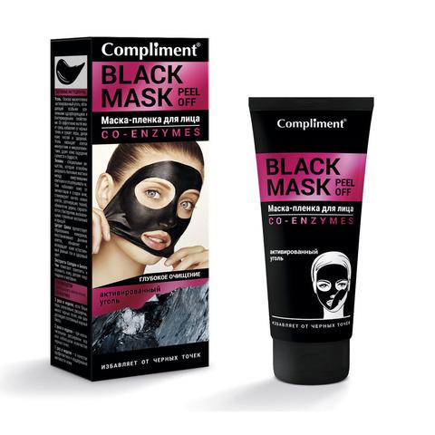 Compliment Black Mask Маска-пленка для лица CO-ENZYMES