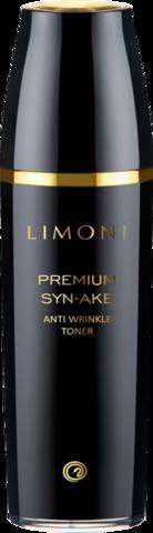 Антивозрастной тонер для лица со змеиным ядом Limoni  Premium Syn-Ake Anti-Wrinkle Toner 120мл