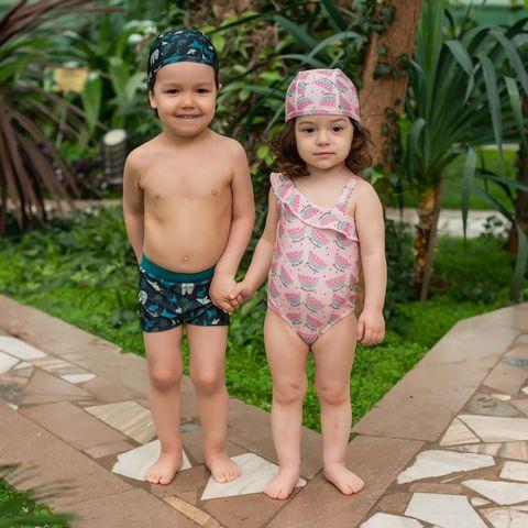 Комплект плавки купальные и бандана