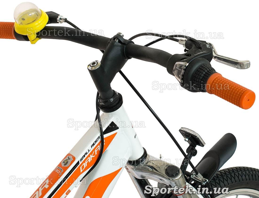 Руль и вынос руля горного универсального велосипеда Formula Dakar 2015 (Формула Дакар)