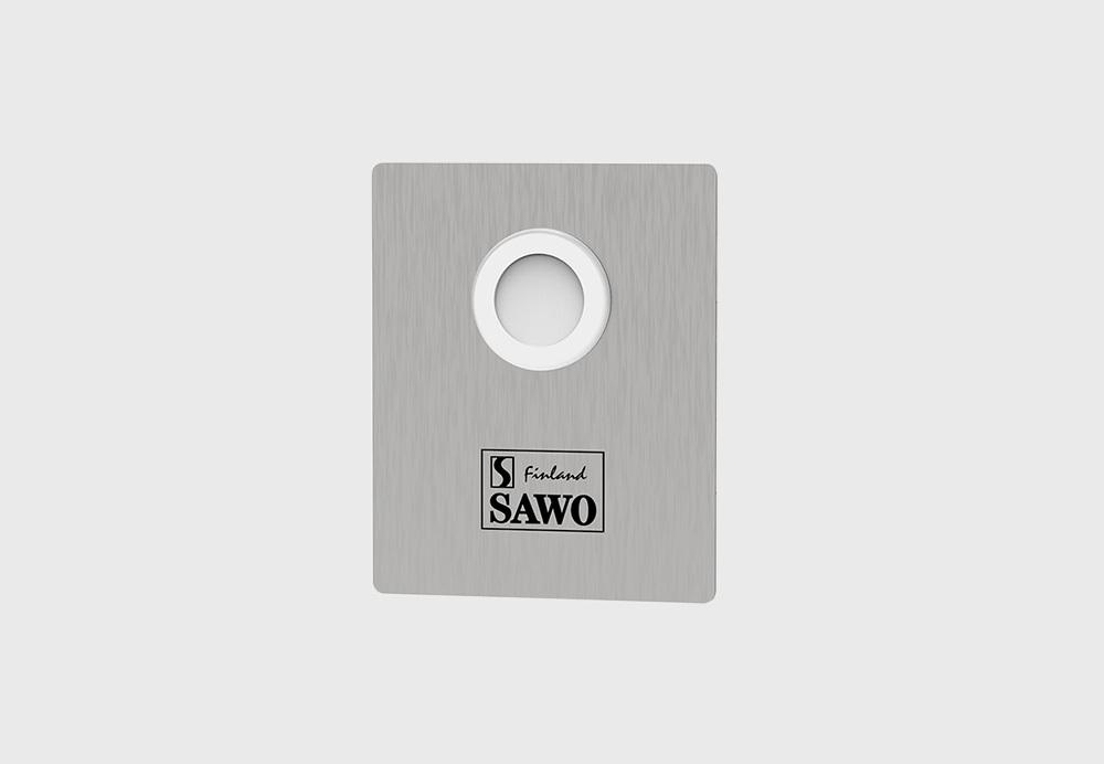 Пульты: Кнопка вызова с подсветкой SAWO STP-BTN-2.0 для саун и бань