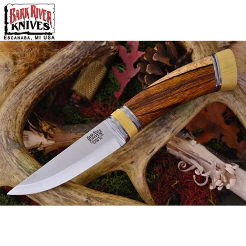 Нож Bark River Scandi модель Desert Ironwood Ivory Spacer