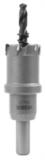ТСТ коронка MESSER 26X25 с центрирующим сверлом и толкающей пружиной