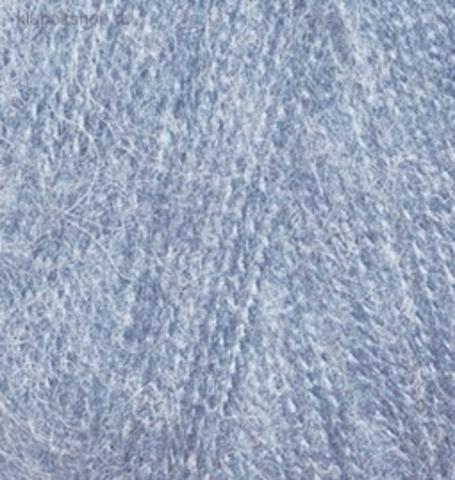 Пряжа Angora real 40 Alize 221 Светлый джинс - фото