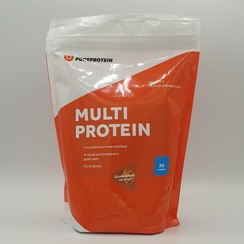 Мультикомпонентный протеин вкус Шоколадное печенье PUREPROTEIN, 600 гр