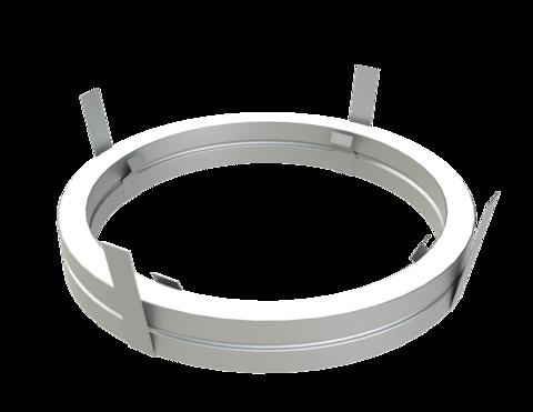 Потолочный проходной узел D250 ОС 0.5 мм (Баня-Бочка)
