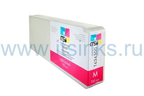 Картридж для Epson 7700/9700 C13T636300 Vivid Magenta 700 мл