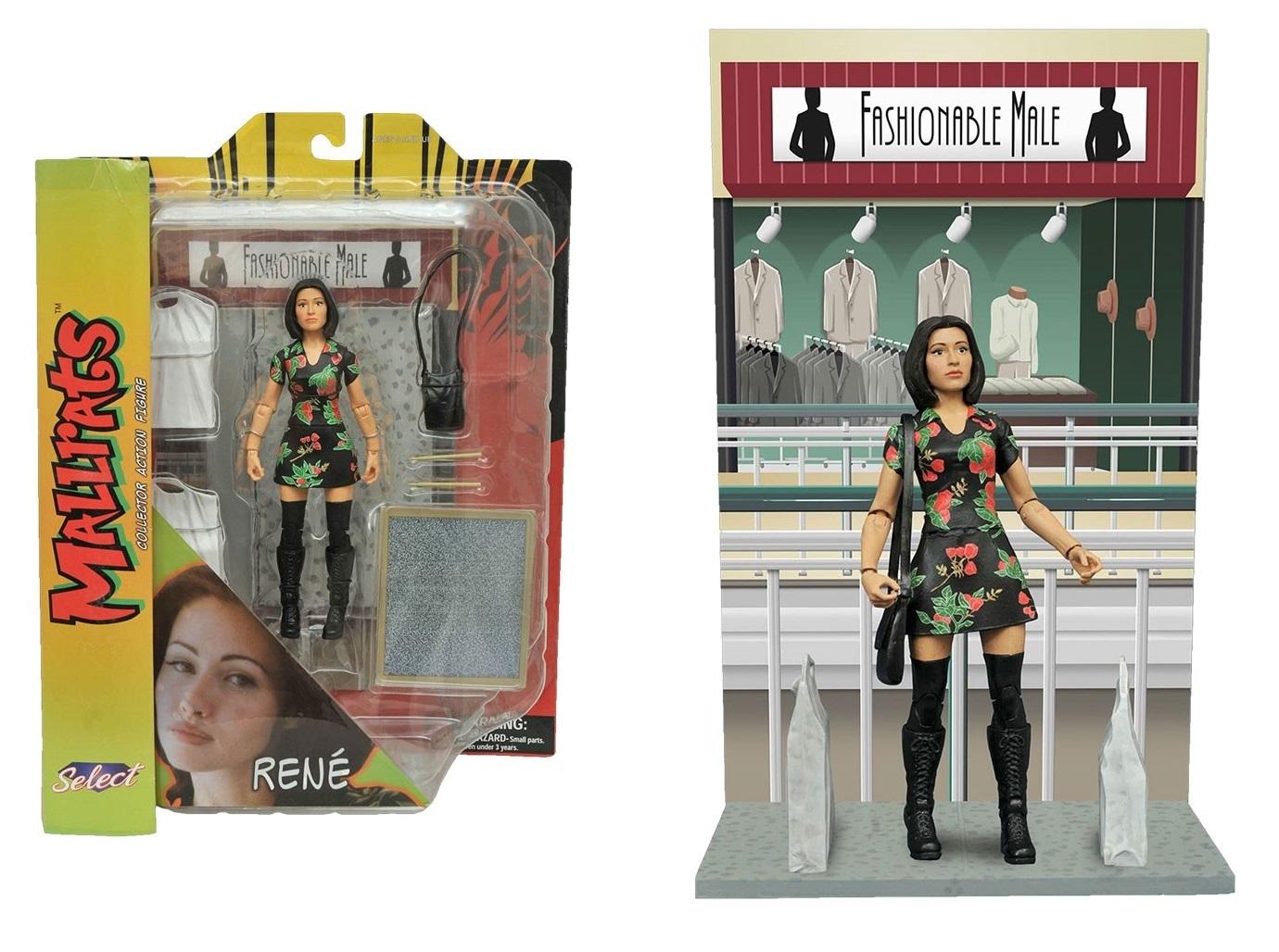Лоботрясы набор фигурок Боб и Рене — Mallrats Select Action Figures