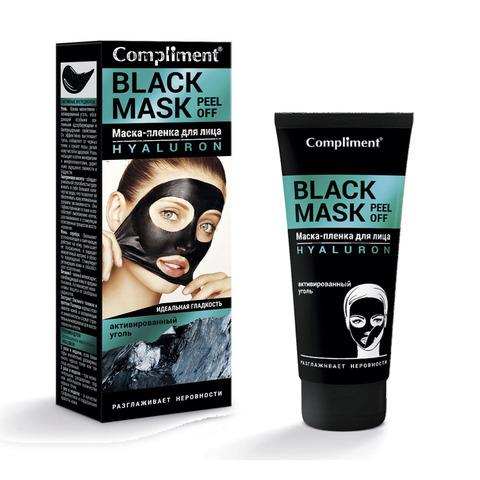 Compliment Black Mask Маска-пленка для лица HYALURON