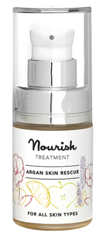 Восстанавливающая сыворотка для лица на основе арганового масла, Nourish