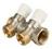 Коллекторы Stout SMB 6851 распределительные с регулировочными вентилями