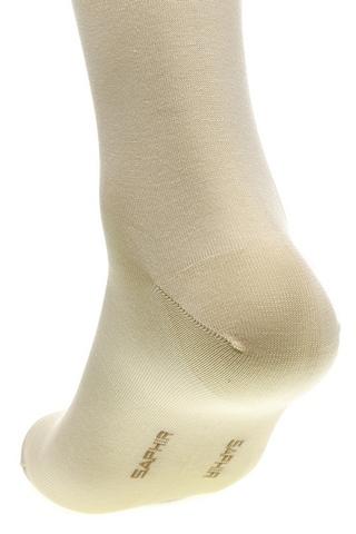 Носки мужские хлопок-нейлон бежевые, sphr63804 Saphir (3 размера)