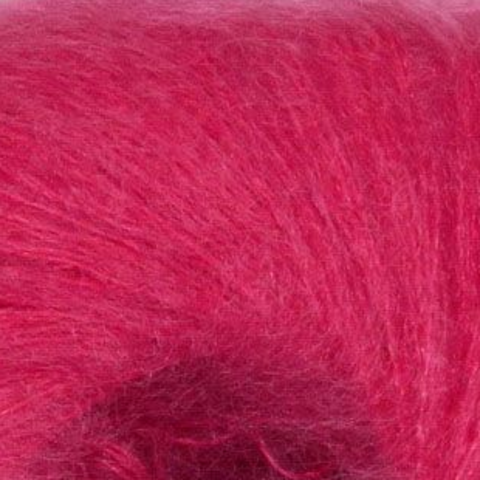 Пряжа Mohair Royal ( Мохер Роял ). Цвет: ярко-розовый. Артикул: 8385