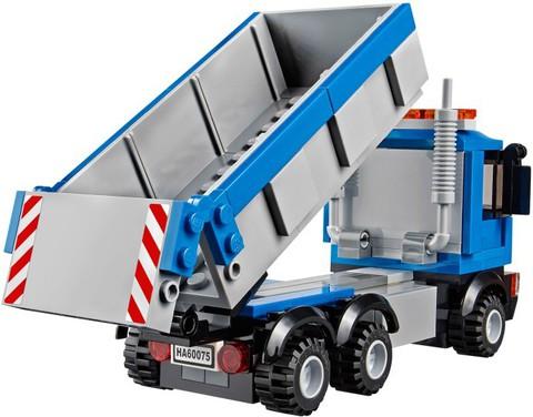 LEGO City: Экскаватор и грузовик 60075 — Excavator and Truck — Лего Сити Город