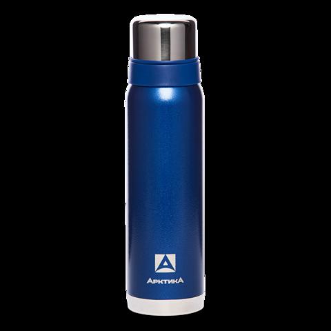 Термос Арктика (0,9 литра) с узким горлом американский дизайн, синий