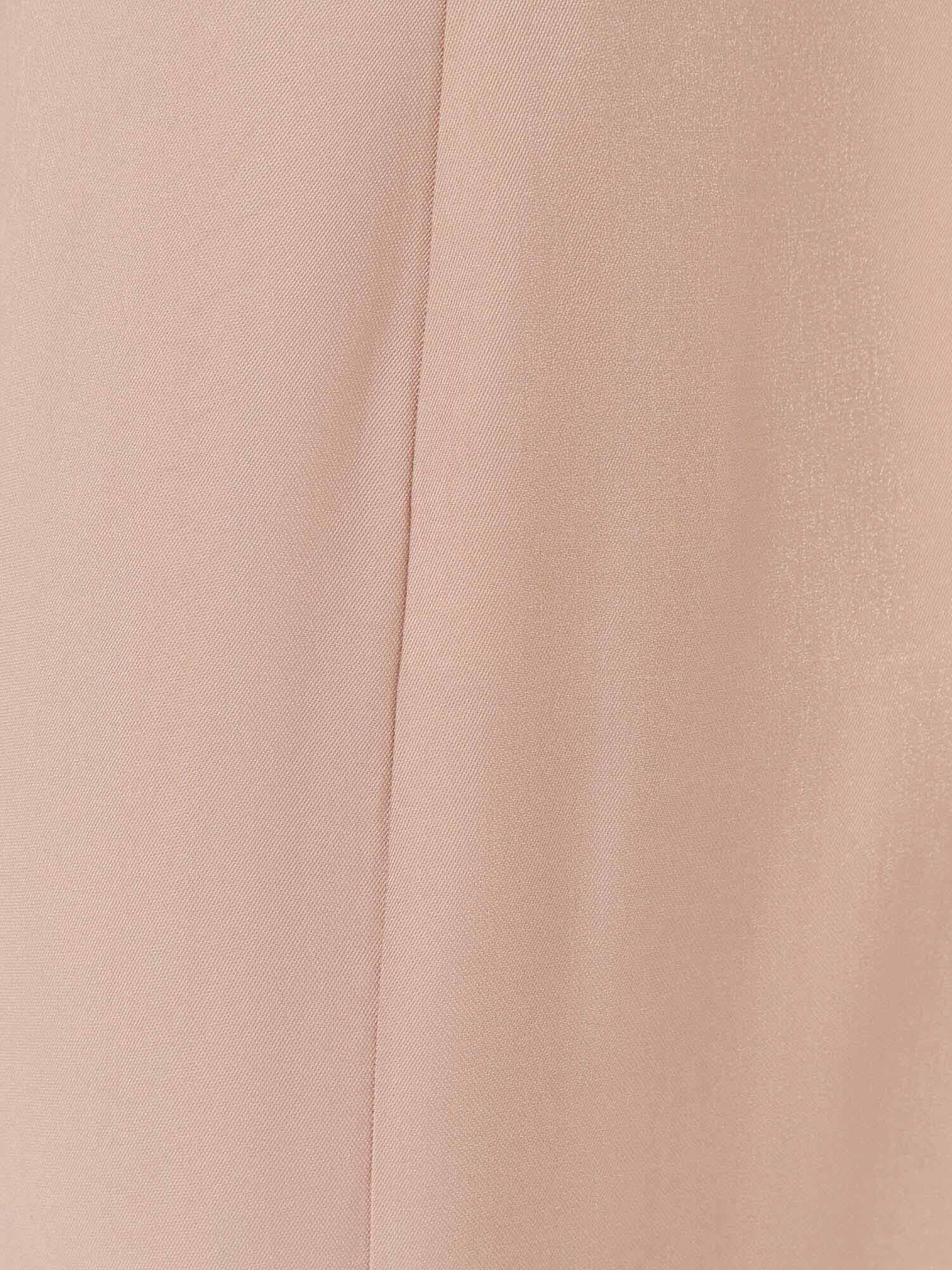 Платье Ashley с асимметричным низом, Песочный