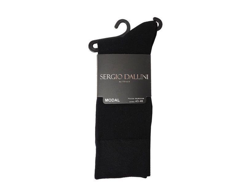 Мужские носки черные Sergio Dallini SDS805-1
