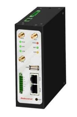 Robustel R3000-Q4LA (Q4LB) - Промышленный 2G/3G/ 4G роутер с двумя SIM-картами