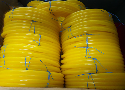 Шланг Ø 18 мм толщина стенки 2 мм желтый