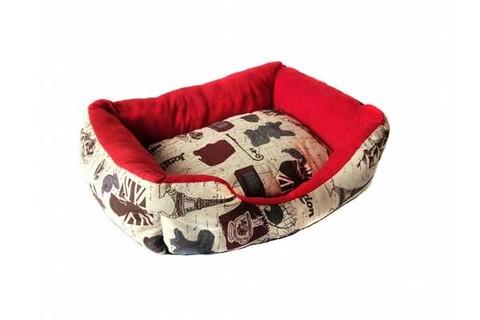 Прямоугольный лежак для животных Travel Life, 40х32х10 см