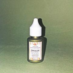 Краска для имитации эмали, №82 Оливковый металлик, 20 мл., США