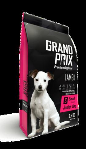 Grand Prix Small Junior сухой корм для щенков собак мелких и миниатюрных пород (с ягненком) 800г