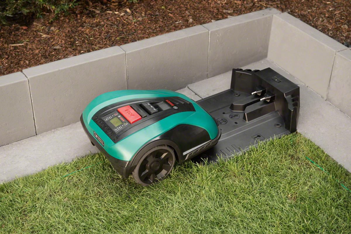 Автоматизированная газонокосилка Bosch Indego 350 (Упаковка: картонная коробка)